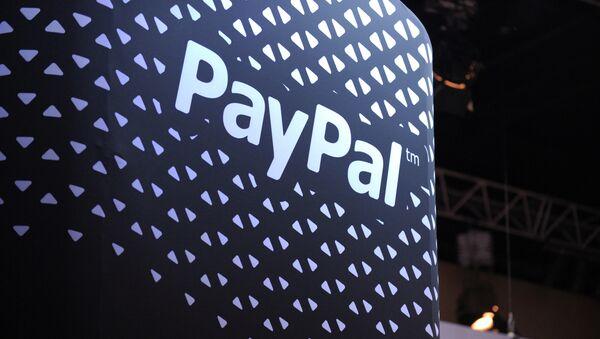 Logo systemu płatności PayPal - Sputnik Polska