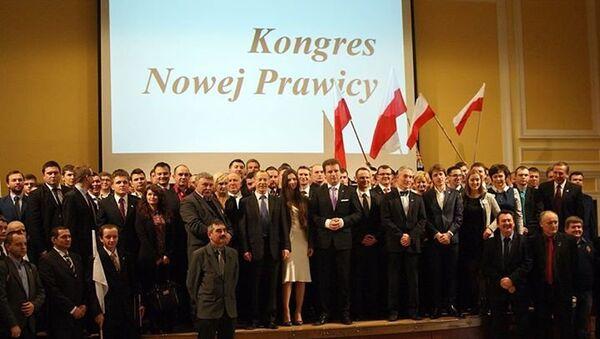Jacek Wilk i Kongres Nowej Prawicy - Sputnik Polska