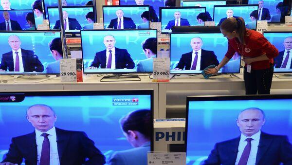 Linia specjalna z Władimirem Putinem - Sputnik Polska