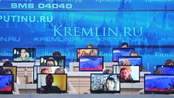 Linia specjalna z prezydentem Rosji Władimirem Putinem - Sputnik Polska