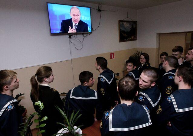 Linia specjalna z Władimirem Putinem