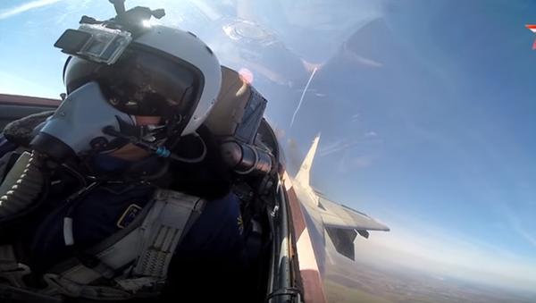 """""""Wojna"""" z kokpitu MiG-29 - Sputnik Polska"""