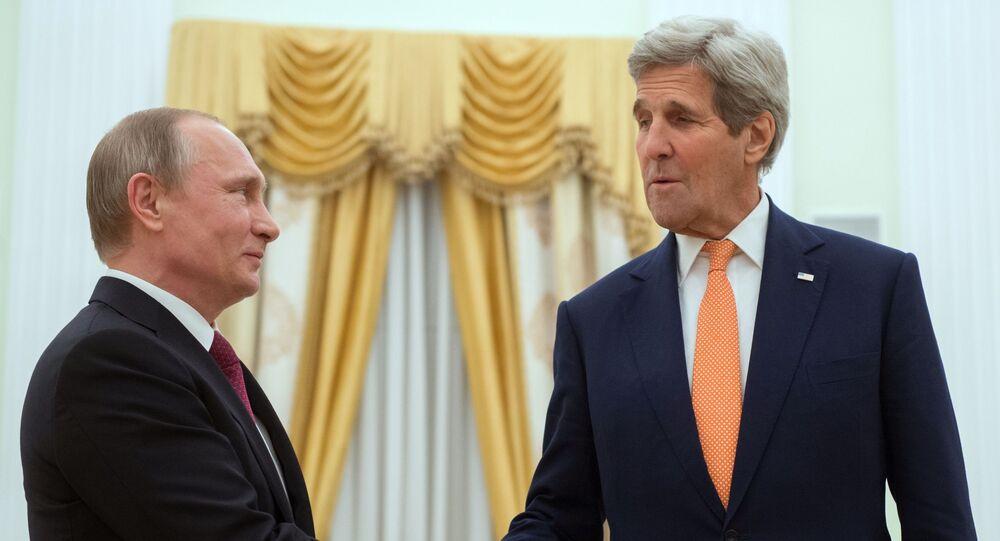 Wizyta sekretarza stanu USA Johna Kerryego w Moskwie