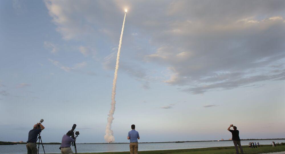 Start satelity z przylądka Canaveral na Florydzie