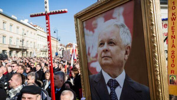 Obchody rocznicy katastrofy smoleńskiej w Polsce - Sputnik Polska