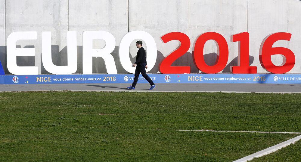 Euro 2016 na stadionie Allianz Riviera w Nicei, Francja