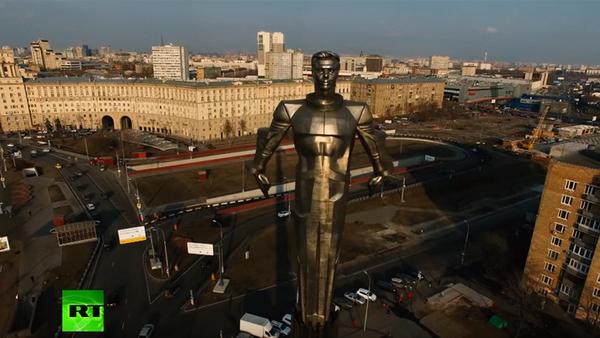 Pomnik Gagarina w Moskwie - Sputnik Polska