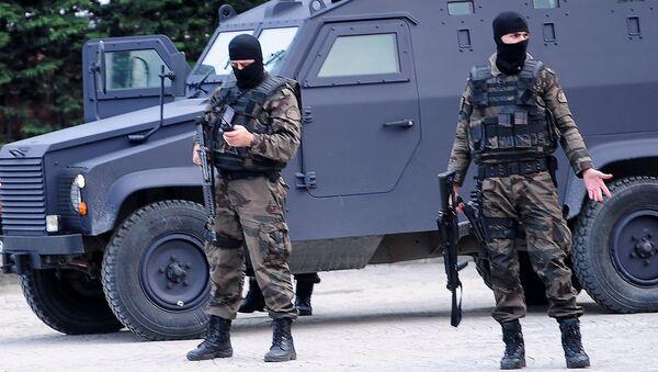 Specnaz tureckiej policji - Sputnik Polska