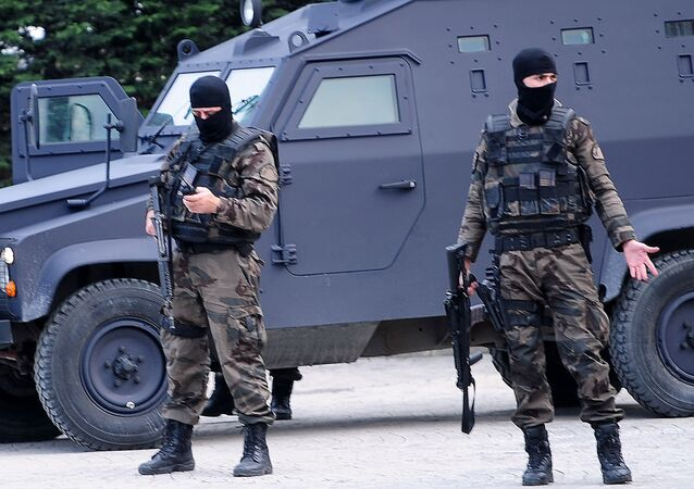 Specnaz tureckiej policji