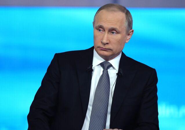 """""""Gorąca linia z prezydentem Rosji Władimirem Putinem"""