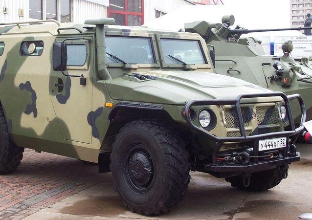 Samochód opancerzony Tigr-M