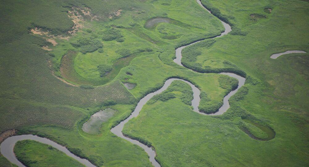 Widok na jedną z rzek w Rosji