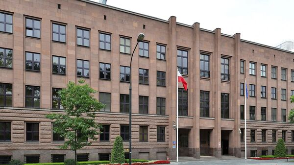 Budynek MSZ Polski w Warszawie - Sputnik Polska