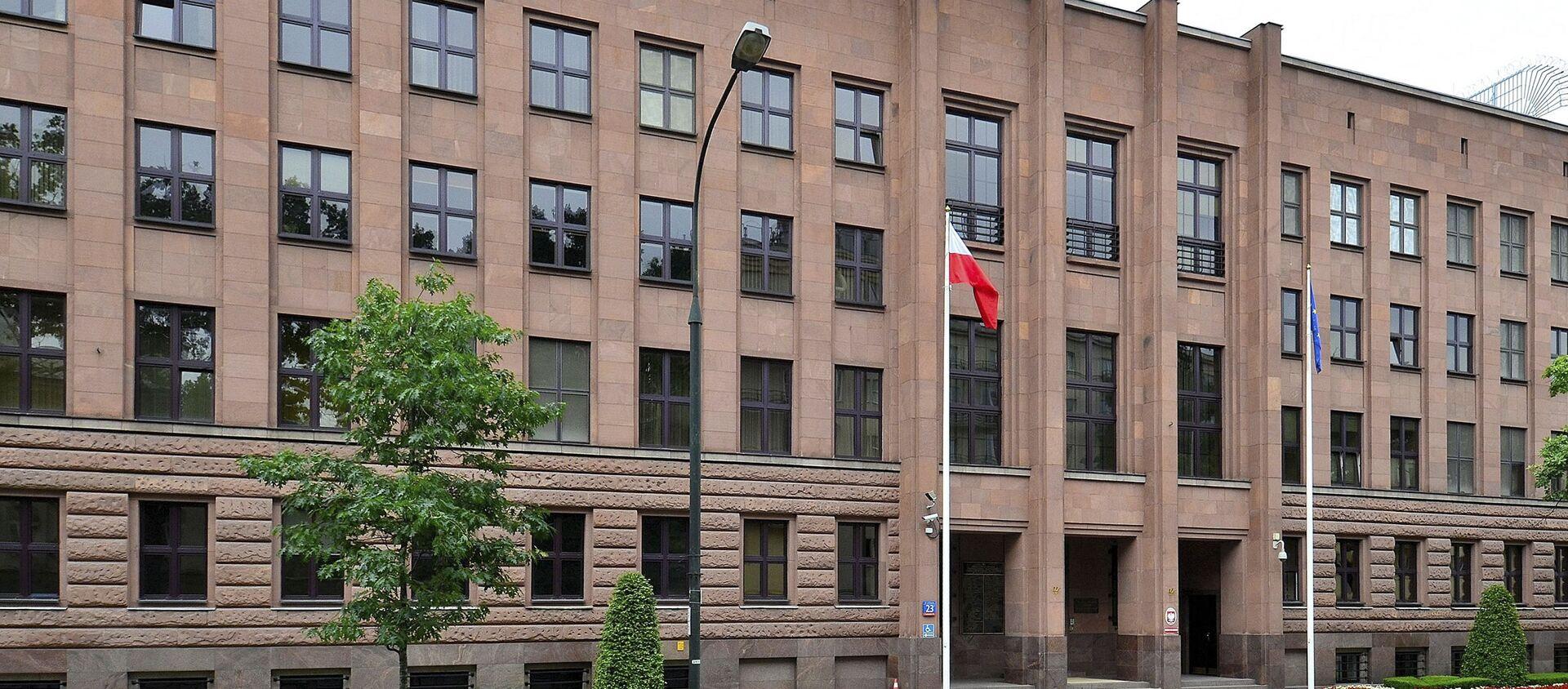 Budynek MSZ Polski w Warszawie - Sputnik Polska, 1920, 02.06.2021