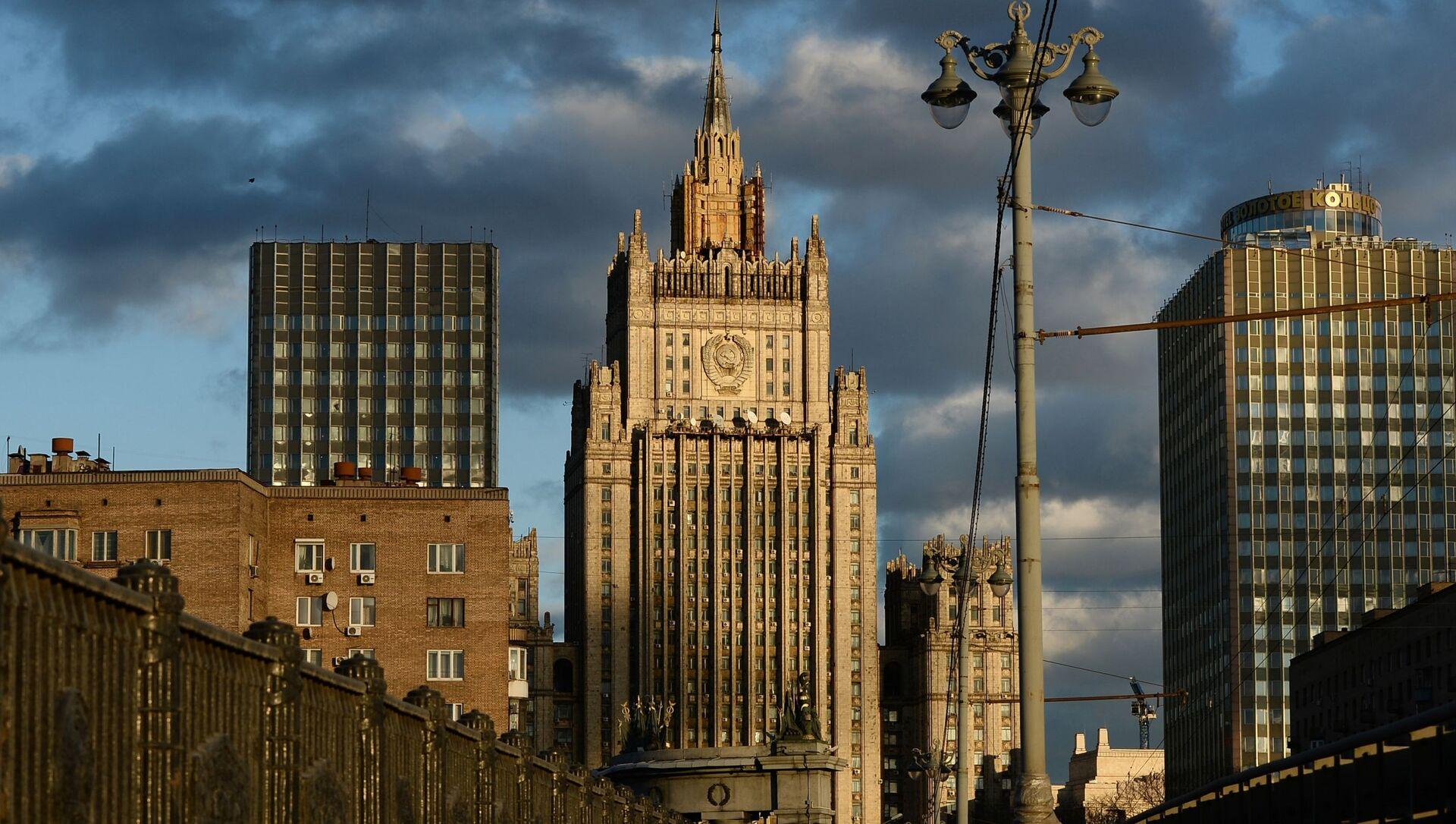 Budynek rosyjskeigo MSZ - Sputnik Polska, 1920, 16.04.2021