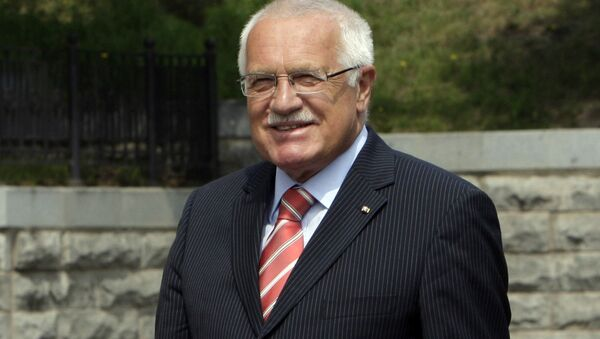 Były prezydent Czech Václav Klaus - Sputnik Polska