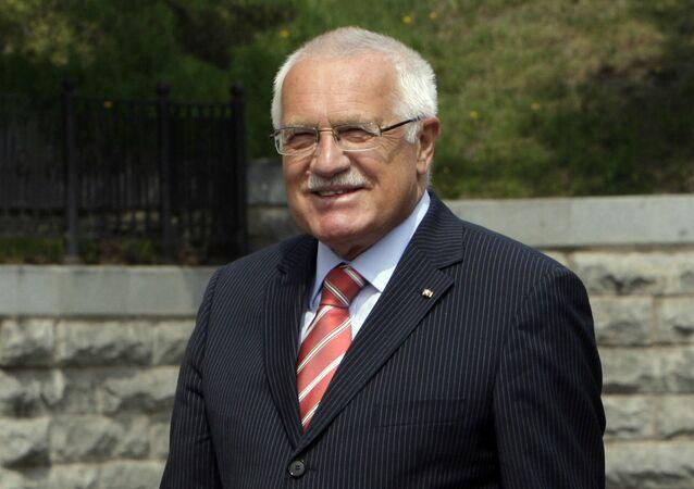 Były prezydent Czech Václav Klaus