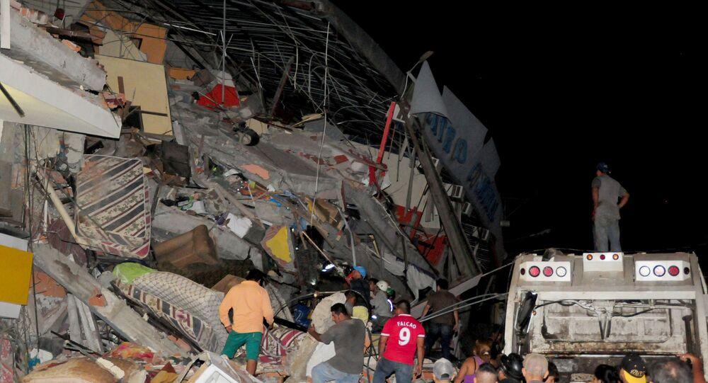 Trzęsienie ziemi w Ekwadorze