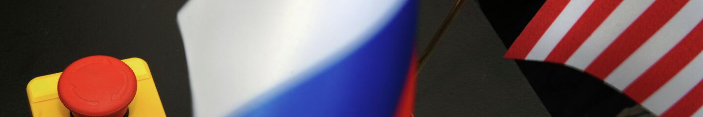The symbolic reset button presented to Russian Foreign Minister Sergei Lavrov by US Secretary of State Hillary Clinton. Mistaken translation or ingenious prediction? - Sputnik Polska