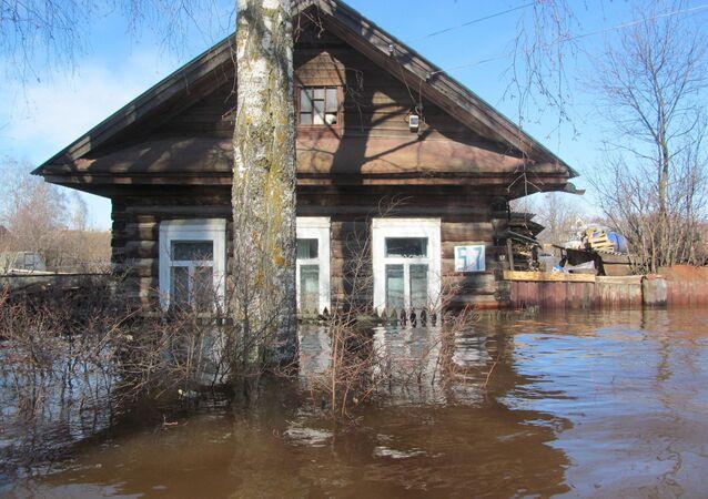 Powódź w Wielkim Ustiugie
