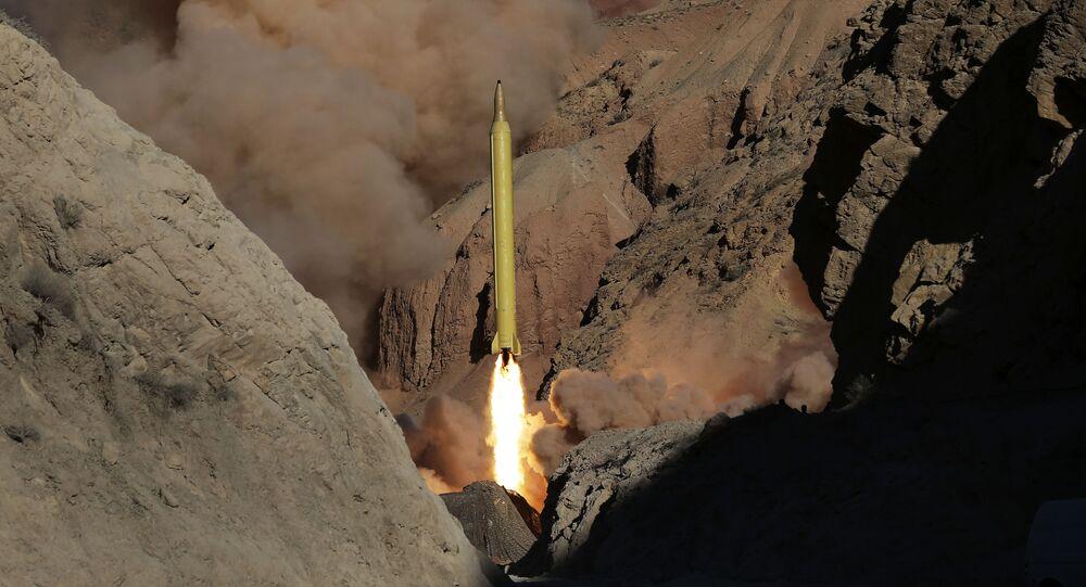 Próby rakiety balistycznej w Iranie