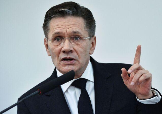 Wiceminister rozwoju gospodarczego Rosji Aleksiej Lichaczow
