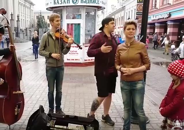 Piosenka o Putinie hitem na YouTube