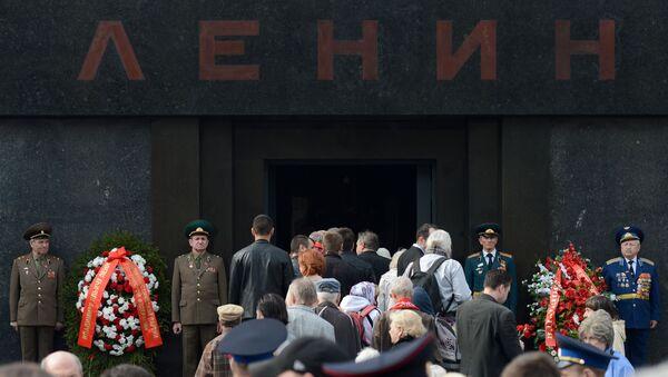 Mauzoleum Lenina w Moskwie - Sputnik Polska