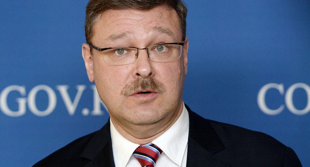 Szef Międzynarodowego Komitetu Rady Federacji Konstantin Kosaczew