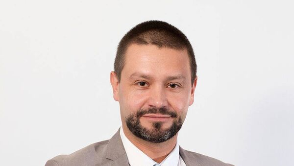 Konrad Rękas - Sputnik Polska