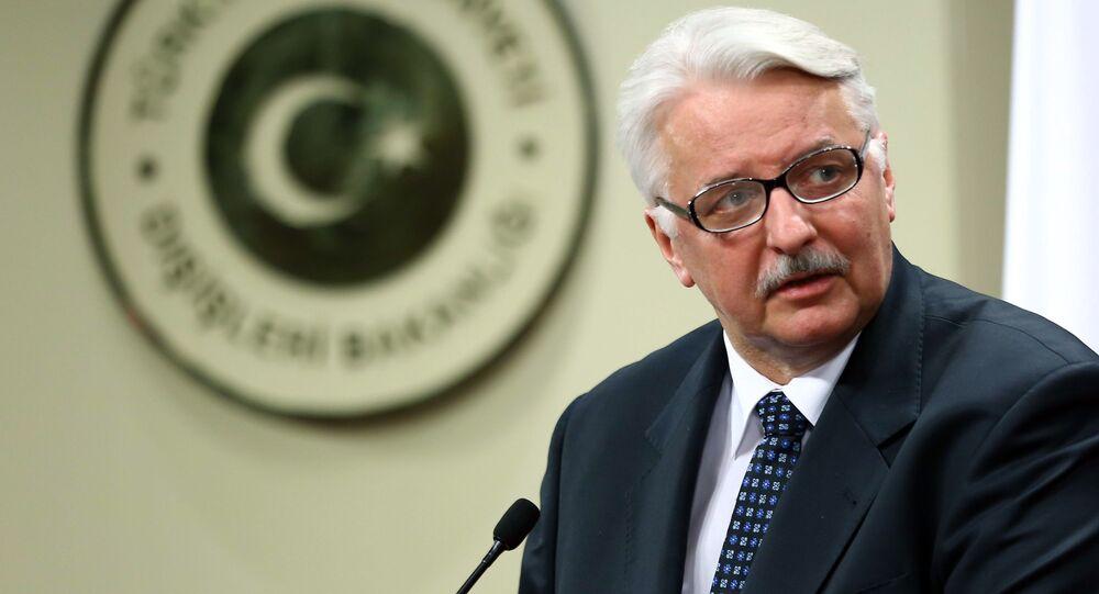 Minister spraw zagranicznych RP Witold Waszczykowski