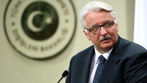 Poland's Foreign Minister Witold Waszczykowski - Sputnik Polska