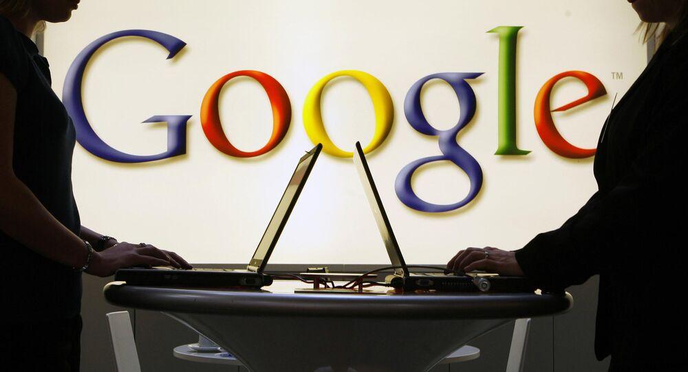 Logo korporacji Google