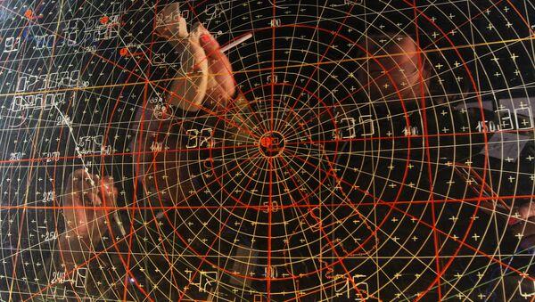 Punkt dowodzenia na poligonie Aszułuk w obwodzie astrachańskim - Sputnik Polska