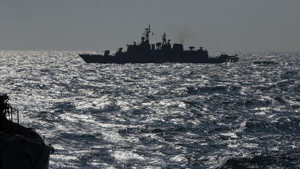 Turecka fregata NATO TCG Turgutreis na Morzu Czarnym - Sputnik Polska