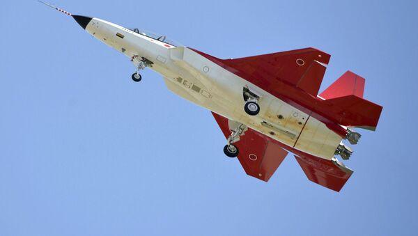 Prototyp pierwszego japońskiego myśliwca piątej generacji X-2 Shinshin - Sputnik Polska
