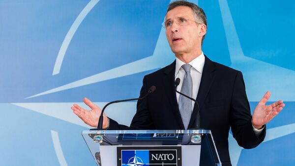 Jens Stoltenberg, sekretarz generalny NATO - Sputnik Polska