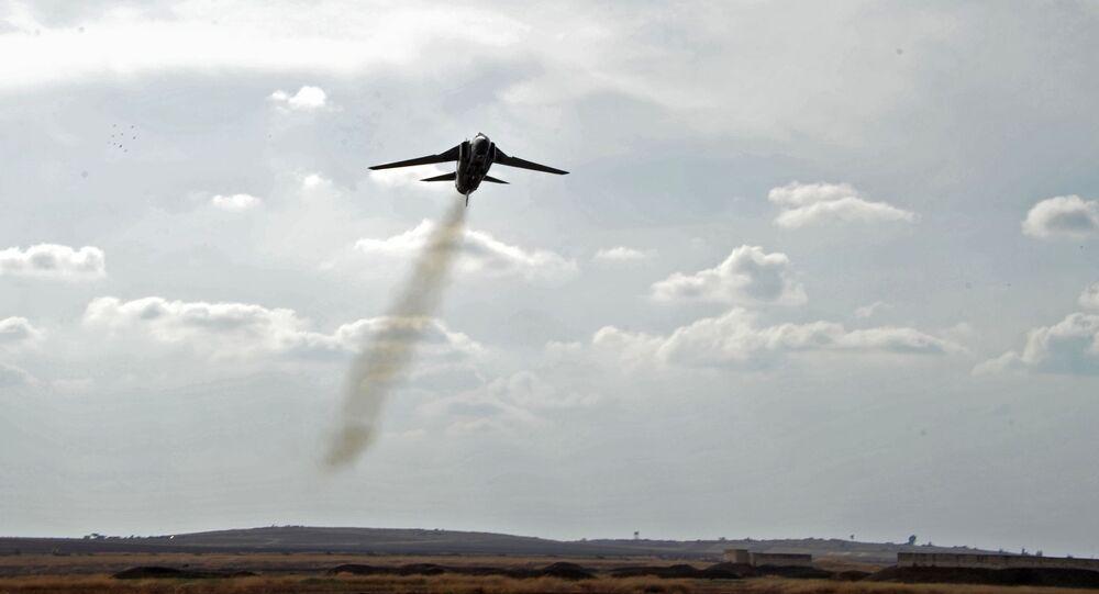 Samolot MiG-23 syryjskich sił powietrznych