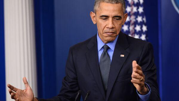 Prezydent Stanów Zjednoczonych Barack Obama - Sputnik Polska