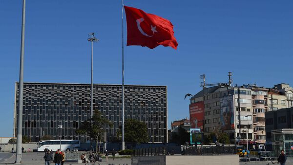 Turecka flaga - Sputnik Polska