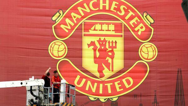 Manchester United Banner - Sputnik Polska