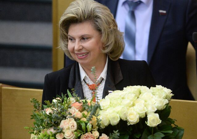 Rzecznik praw człowieka w Federacji Rosyjskiej Tatjana Moskalkowa