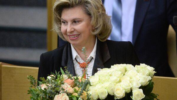 Rzecznik praw człowieka w Federacji Rosyjskiej Tatjana Moskalkowa - Sputnik Polska