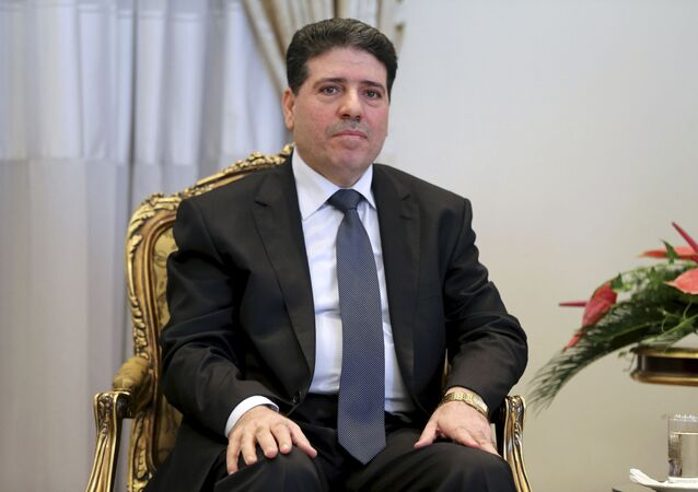 Premier Syrii Wa'il Nadir al-Halki