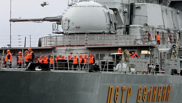Ciężki atomowy krążownik rakietowy Piotr Wielki - Sputnik Polska