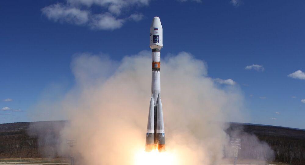 Rakieta nośna Sojuz-2.1a wystartowała dzisiaj z kosmodromu Wostocznyj