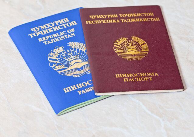 Paszporty obywateli Tadżykistanu