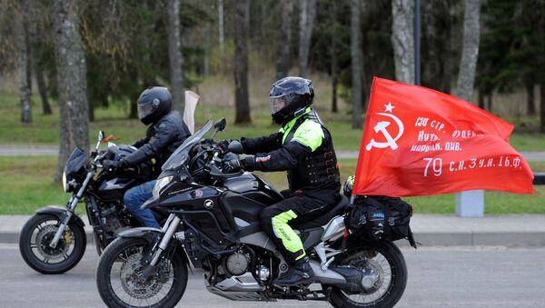 Motocykliści z klubu Nocne Wilki - Sputnik Polska