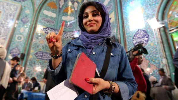 Wybory parlamentarne w Iranie - Sputnik Polska