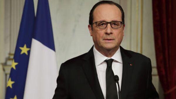 Prezydent Francji François Hollande - Sputnik Polska